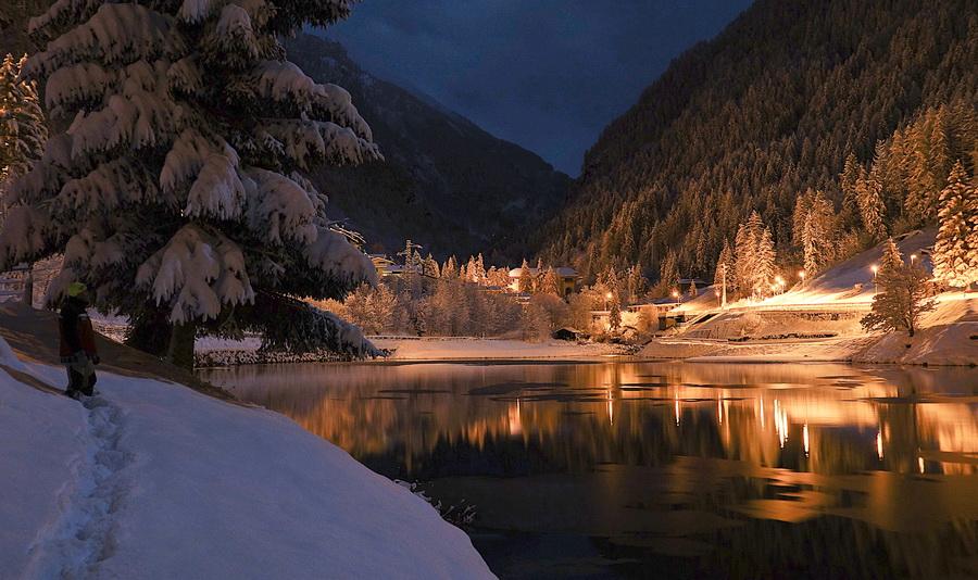 Valle brembana tra la candida al laghetto alpino di for Paesaggi invernali per desktop